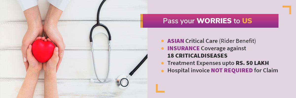 Asian Life Insurance – Critical Care
