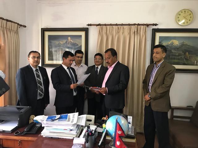 Chairman of Board of Director takes oath