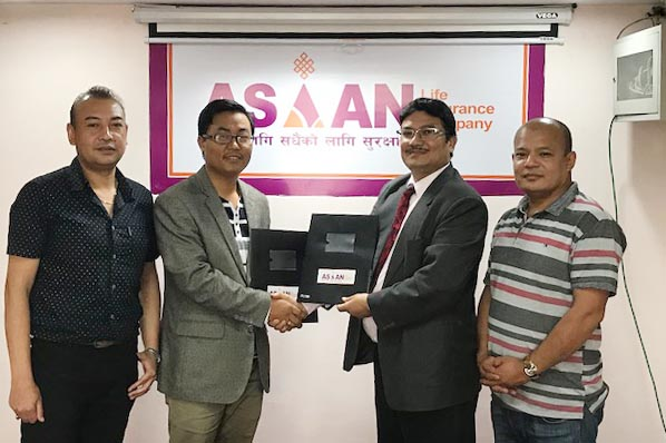 MOU signed between Asian Life Insurance Co. Ltd. & NIBL Ace Capital Issuance of Right Share